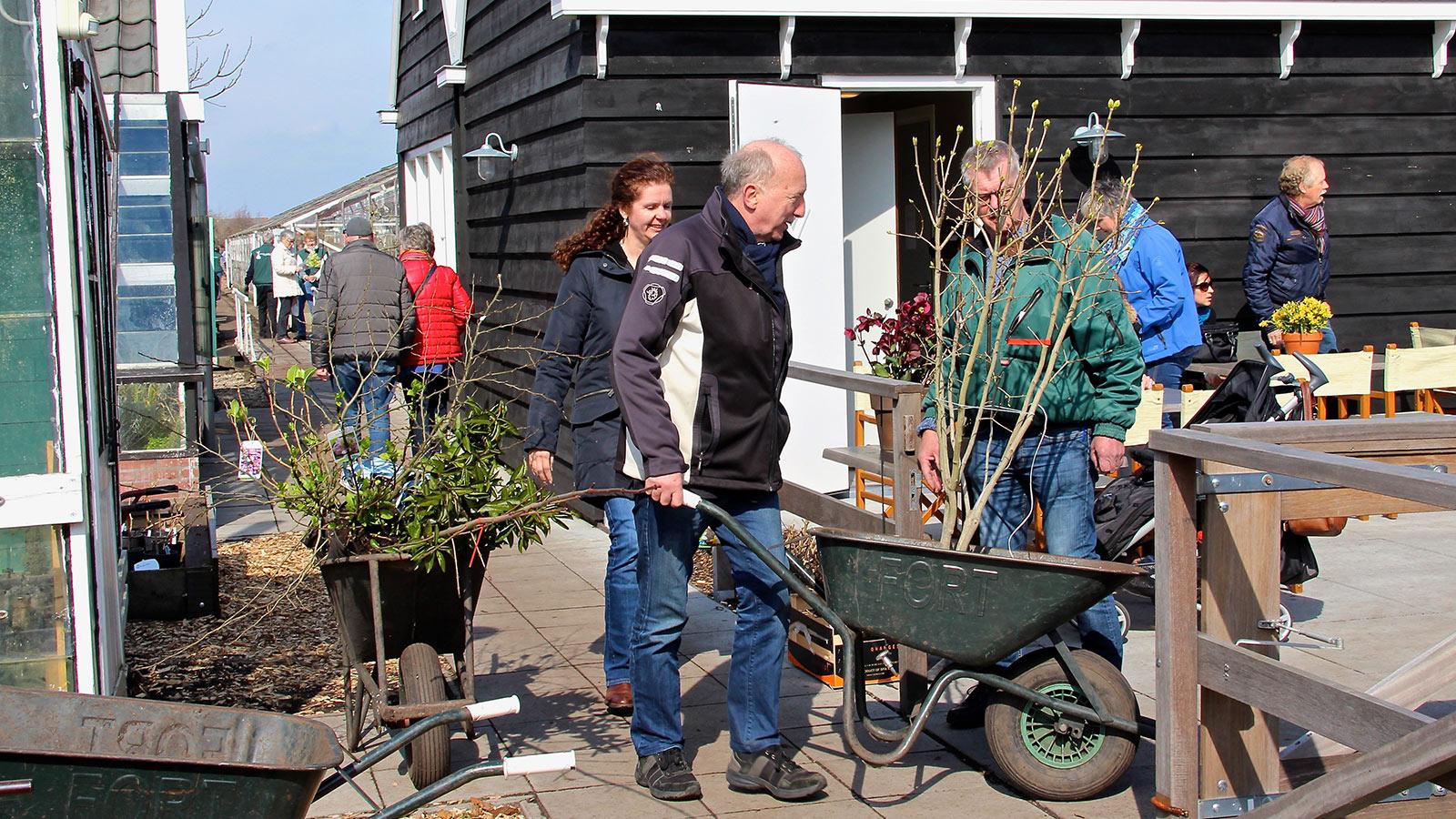 Historische Tuin Aalsmeer - Beleef - Verkoopdag